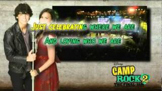 What We Came Here For - Camp Rock 2 Karaoke With Lyrics