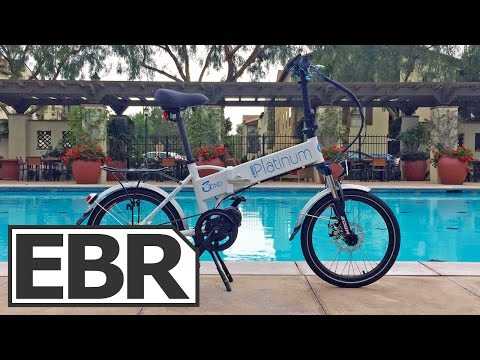 Platinum e-Bikes 3OND Video Review - Folding Ebike with Mid-Drive and Internally Geared Hub