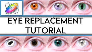Eye Replacement Tutorial - 8 Minutes | Apple Motion