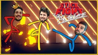 WILLY VS FARGAN VS VEGETTA  - STICK FIGHT THE GAME