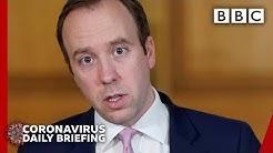 Coronavirus: UK death toll tops 10,000   Government Press Conference 🔴 @BBC News - BBC