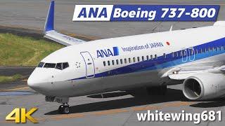 [737-800] ANA Boeing 737-800 JA78AN LANDING TOYAMA Airport 富山空港 2020.9.11