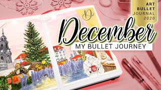 DECEMBER Bullet Journal Seтup PLAN WITH ME Germany Deutschland