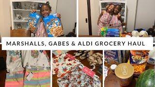 MARSHALLS, GABES & ALDI HAUL // CLOTHING HAUL // GROCERIES // SUMMER 2019