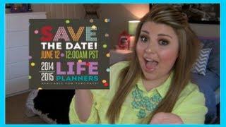 Erin Condren 2014-2015 Life Planner Launch & Giveaway! Thumbnail