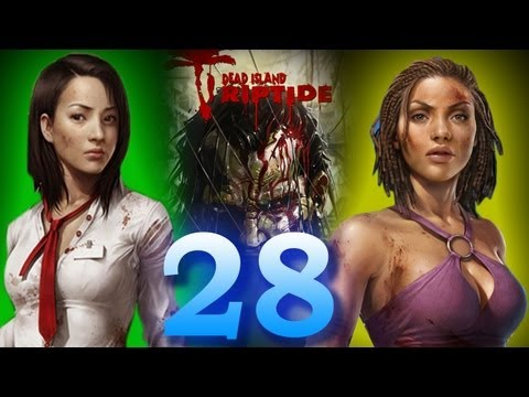 Dead Island Riptide: Disable The 4 Sirens/Locate Explosives Inside Military Base Part 28
