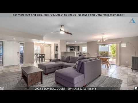 Priced at $4,750 - 9922 E DONEGAL Court, Sun Lakes, AZ 85248