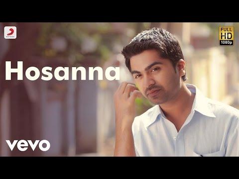 Vinnaithaandi Varuvaayaa - Hosanna Tamil Lyric | Rahman | STR, Trisha