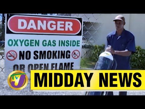Demand for Medical Oxygen Sky Rocket in Jamaica | TVJ News