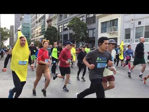 Bay to Breakers 2018 San Francisco California (Slow Motion)