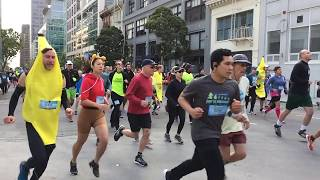 Bay to Breakers 2018 San Francisco California (Slow Motion)