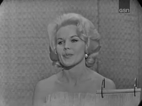 What's My Line?  Carroll Baker; Tony Randall panel Jun 28, 1964