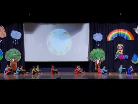 Aao Ham Sab Hath Milayein | Tiny Tots Play School, Wagholi | 10th Annual Day |