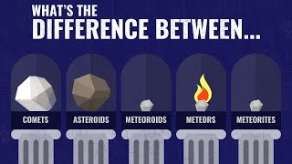 Less Than Five - What's the Difference Between Comets, Asteroids, Meteoroids, Meteors & Meteorites?