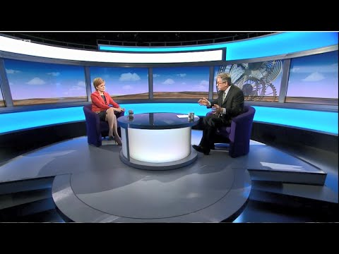 BBCSP Interview - Nicola Sturgeon avoids answering questions on post-#Brexit #IndyRef2