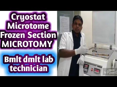 Cryostat Microtome | Frozen Section | MICROTOMY | Histopathology