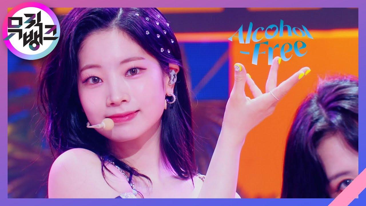 Download Alcohol-Free - TWICE(트와이스) [뮤직뱅크/Music Bank]   KBS 210611 방송