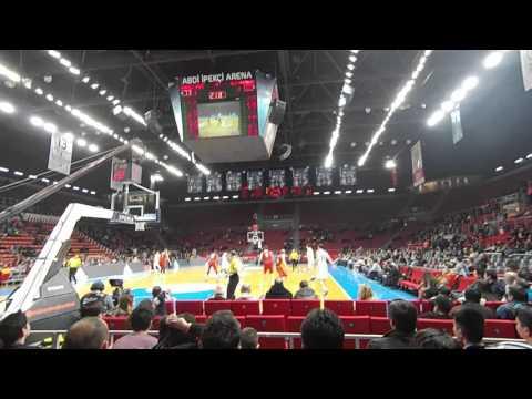7 Şubat 2016 Anadolu Efes - Galatasaray Odebank Maç Sonu