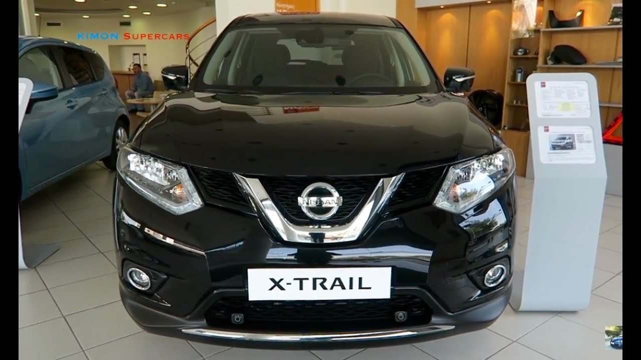new 2017 nissan x trail exterior and interior youtube. Black Bedroom Furniture Sets. Home Design Ideas