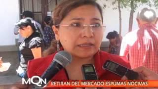 RETIRAN DEL MERCADO ESPUMAS NOCIVAS