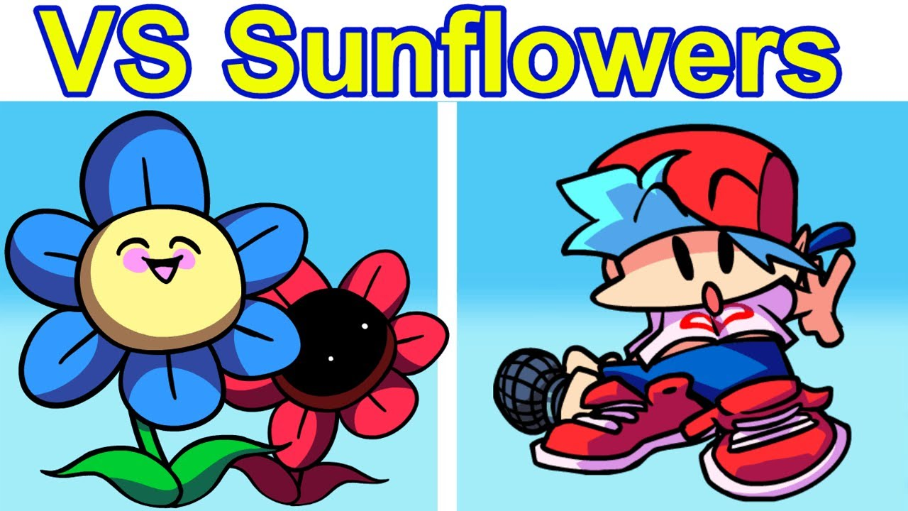 Friday Night Funkin' VS Mope Mope FULL SONG (FNF HD Mod/Hard) (Battle with Sunflowers)