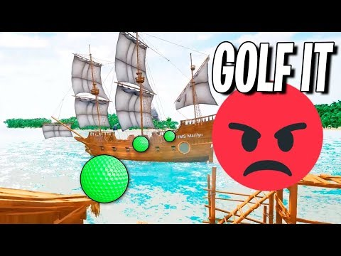 GOLF IT | ODIO, RABIA Y ENFADOS!