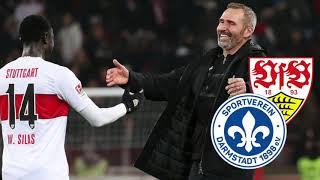 Darmstadt 98 gegen VfB Stuttgart - Stuttgart aufgepasst: Dursun und Kempe lauern