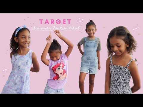 girl's-(kids)-target-fashion-haul---summer-girls-fashion-lookbook---target-style-kids,-cat-and-jack
