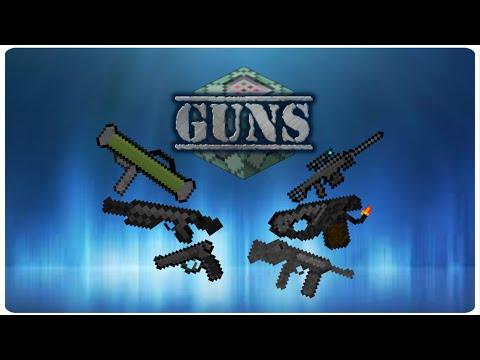 Guns in vanilla minecraft only one command blocks 1 10 youtube