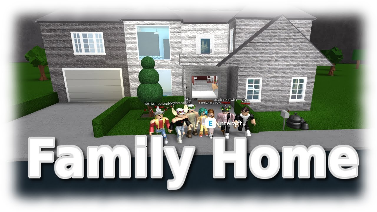 Roblox Bloxburg Family Home Ideas