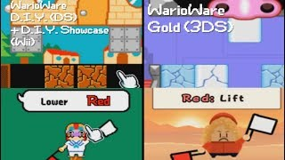 All D.I.Y. Microgames in WarioWare Gold