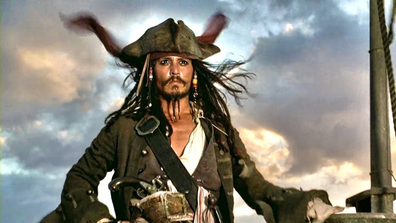 Captain jack sparrow legendary first appearance intro scene youtube premium altavistaventures Image collections