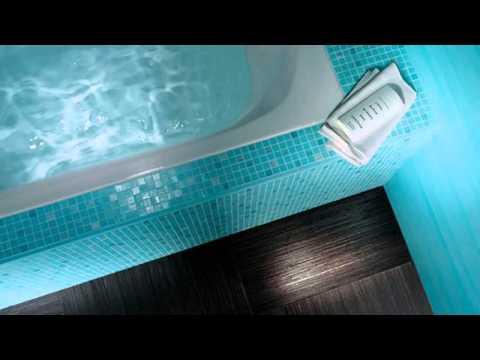 Ванная цвета морской волны  изумительная красота дизайна