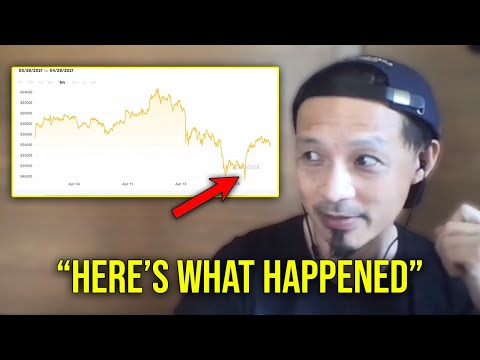 Willy Woo:  The Real Reason For Bitcoin Dips