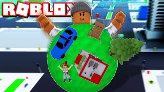 BIGGEST BOULDER EVER!! | Roblox Boulder Simulator (Size 10,000m)