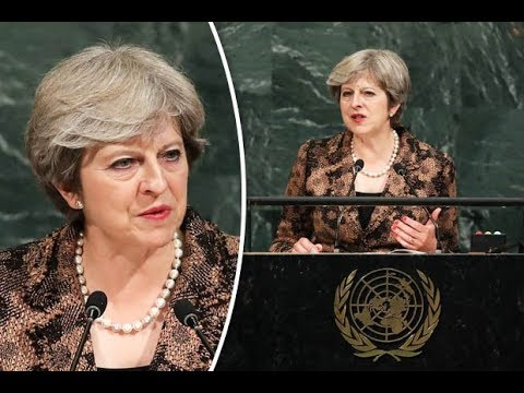 MUST WATCH: UK Prime Minister Theresa May SLAMS Trump, Russia and North Korea: Protects Migration