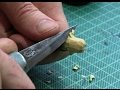 Carving Wooden Beads From Pithy Twigs