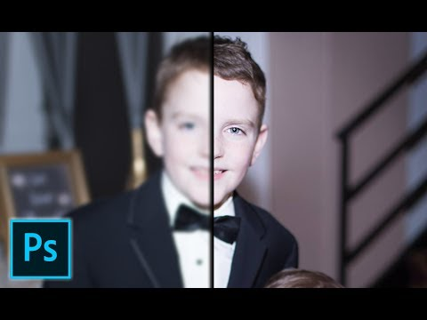 How To Fix A Blurry Image Using Adobe Photoshop.