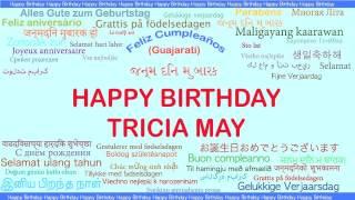 TriciaMay   Languages Idiomas - Happy Birthday