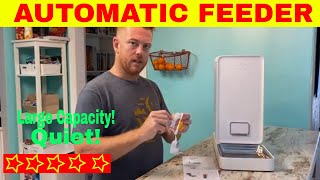 Pet Kit Automatic Cat feeder Review and unboxing | Pet net Alexa enabled