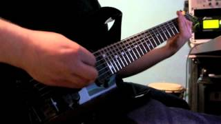 Let Down - Andy Saoumaa (Axe fx II, The metal foundry)
