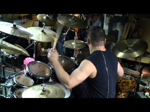 "Shatter Messiah - ""Fear to Succeed"" Drum Practice Video (Robert Falzano)"