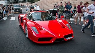 Supercars in Monaco Top Marques 2018 VOL. 2 - Apollo IE, EB110 GT, Enzo, 812 Superfast and more!!
