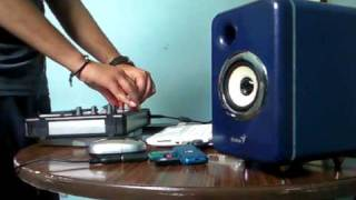 eee PC 901 - Hercules DJ control MP3 - VirtualDJ (DEMO)+asus virtual dj VIDEO WITH SAMSUNG F480L