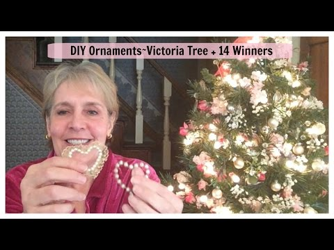 DIY Ornaments For Small Victorian Tree
