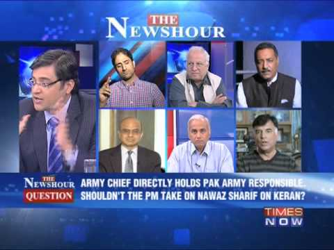 The Newshour Debate: Governments's Pakistan policy - Full Debate