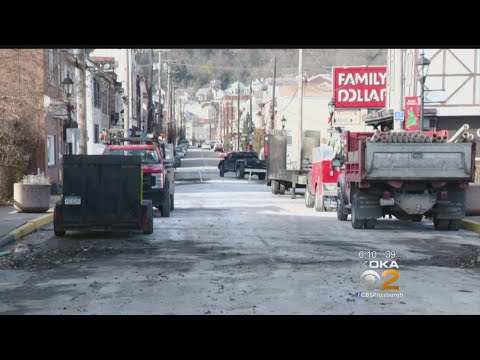 Millvale Water Main Break Impacts Local Black Friday Shopping