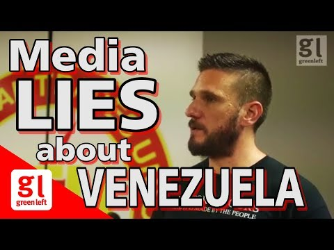 Fred Fuentes: Media lies about Venezuela