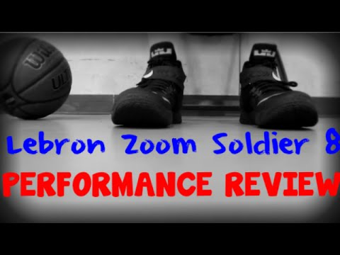 new concept 228f4 53095 Nike Zoom Lebron Soldier 8 Performance Test + CRAZY DUNK SESSION!!!