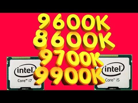 Процессор Intel I5 9600k I5 8600k I7 9700k I9 9900k Тесты FPS в Играх Какой Купить Лучший Апгрейд